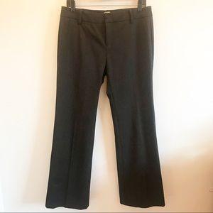 Ecru Dark Grey Pants